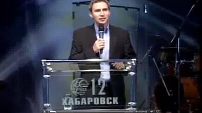 Прямой эфир из хабаровской Церкви Иисуса Христа с Сергеем Шидловским (05.10.12)